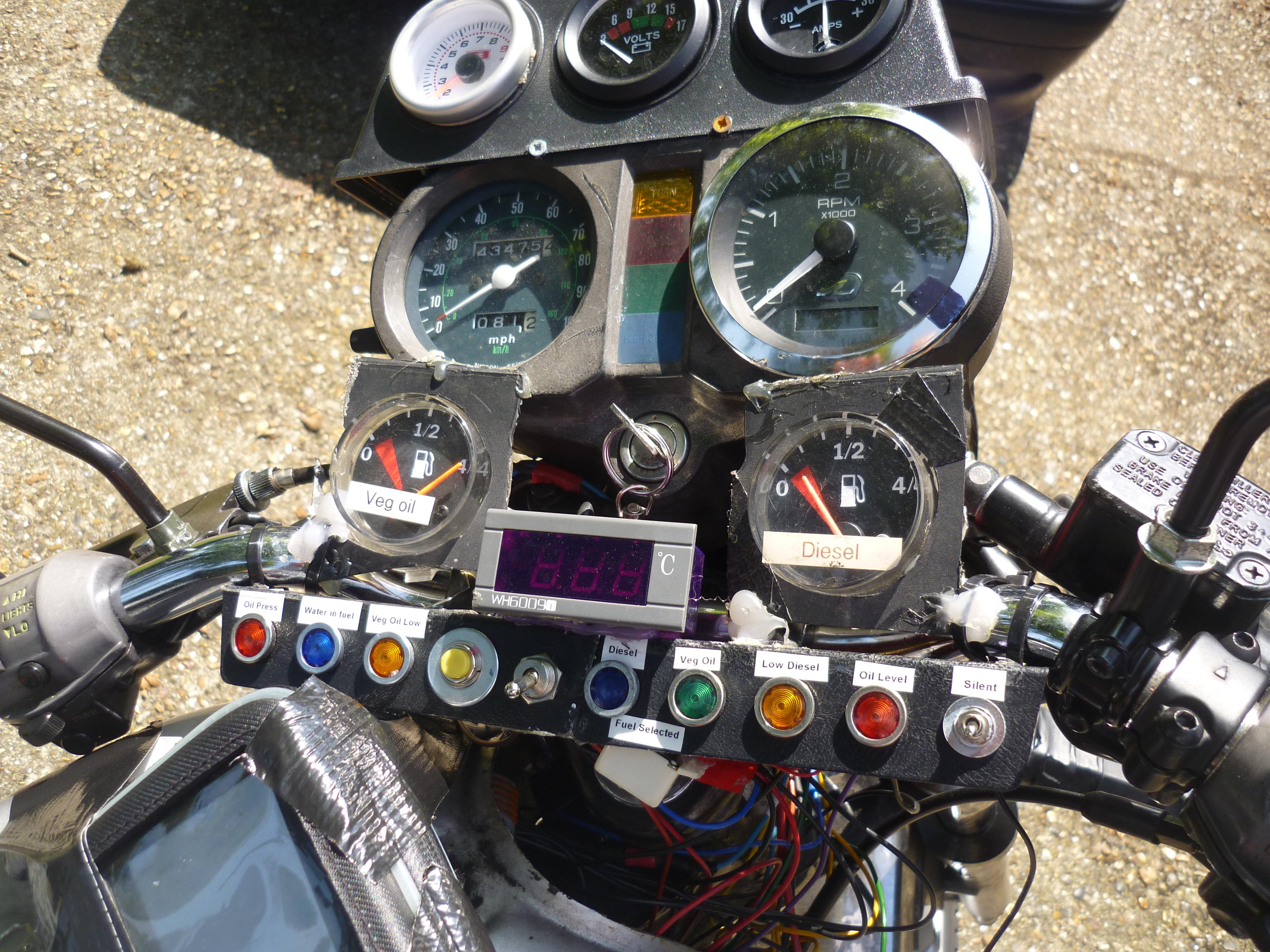 XJ 600 Diesel bike build update | FotiFixes.com – A
