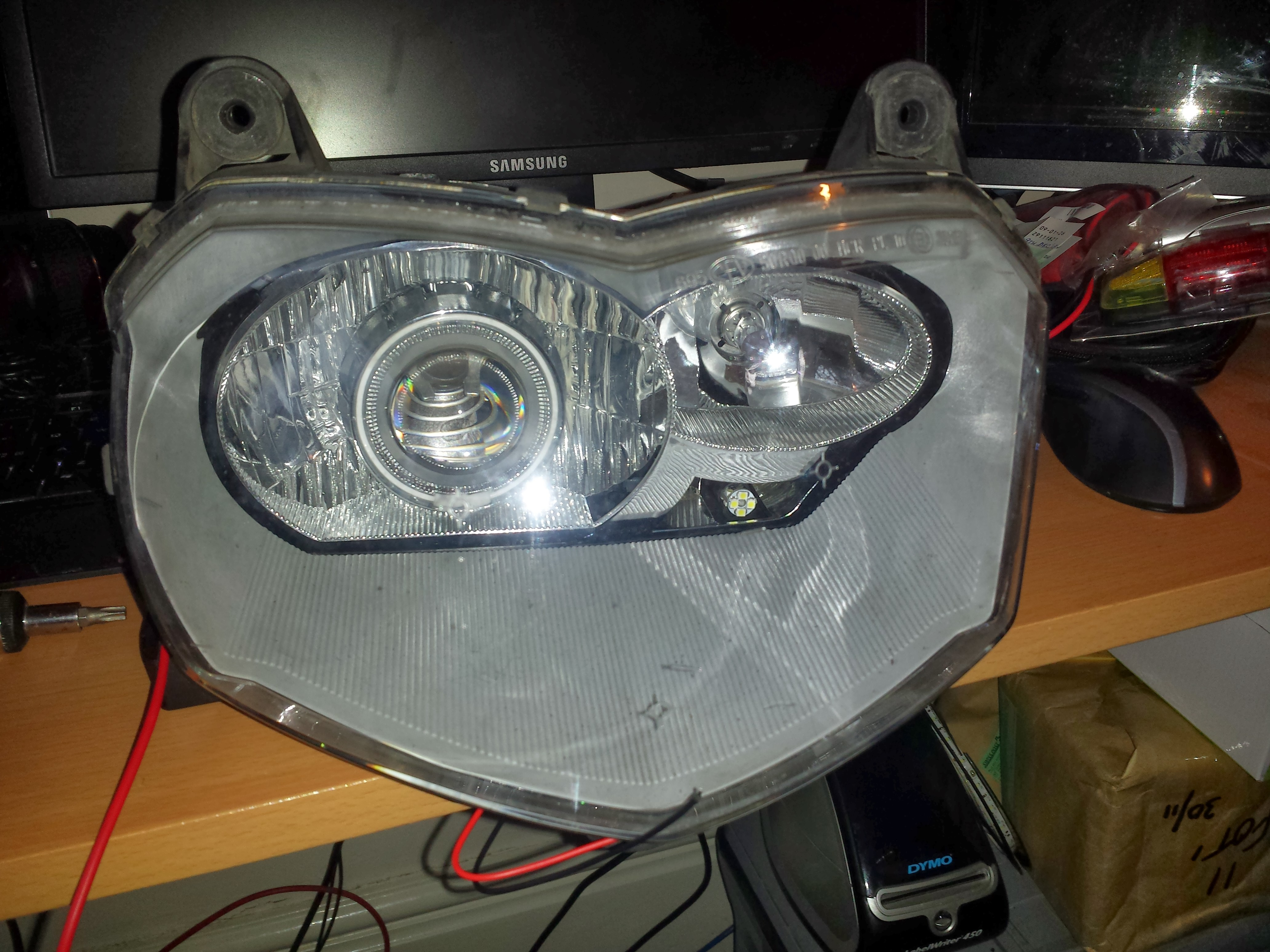 Bmw F800 St Projector Headlight Installation Fotifixes